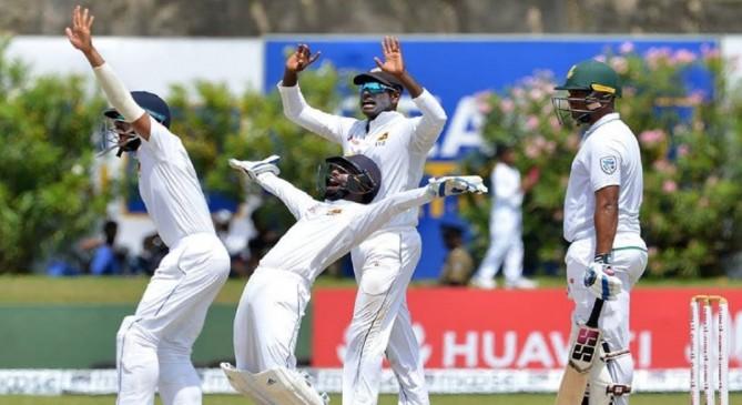 श्रीलंका ने जीता पहला टेस्ट, अफ्रीका को 278 रनों से हराया