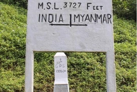 भारत-म्यांमार सीमा विवाद : म्यांमार ने भारतीय सीमा के 3 किलोमीटर अंदर गाड़े स्तंभ