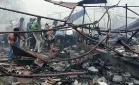 तेलंगाना: वारंगल में पटाखा फैक्ट्री के गोदाम में लगी भीषण आग, 10 मजदूरों की मौत