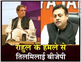 राहुल पर BJP-RSS का पलटवार, पूछा- क्या आपने भारत के खिलाफ सुपारी ली है?