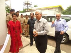दैनिक भास्कर के प्रोग्राम में शामिल होने नागपुर पहुंचे मुख्य निर्वाचन आयुक्त ओपी रावत
