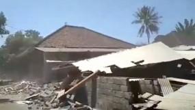 इंडोनेशिया: लॉम्बोक आईलैंड में भूकंप, 1 की मौत, 100 से ज्यादा घर तबाह