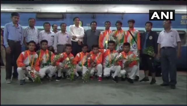 स्टूडेंट ओलंपिक एशियाई गेम्स : अंडर 17 फुटबॉल टीम सोआग से जीत हासील कर भारत लौटी