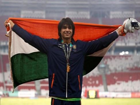 गोल्डन बॉय नीरज चोपड़ा ने तोड़ा नेशनल रिकॉर्ड, जेवलीन में गोल्ड जीतने वाले पहले भारतीय