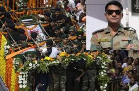 कश्मीर में शहीद हुए मेजर कौस्तुभ राणे की शहादत को नमन करने उमड़ा जनसैलाब