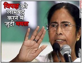 पीएम बनना नहीं, BJP के खिलाफ सभी दलों को एकजुट करना है लक्ष्य : ममता बनर्जी