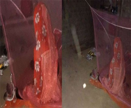 चमत्कार: महिला के पैर में लिपटा सांप, देवी विषहरी का गीत सुनते ही हुआ रफू-चक्कर