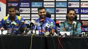 एशिया कप 2018: प्रेस कॉन्फ्रेंस में साथ बैठे भारत-पाकिस्तान, जानिए क्या कहा रोहित शर्मा ने