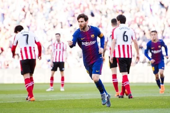 बार्सिलोना सिर्फ मुझ पर निर्भर न रहे : लियोनेल मेसी