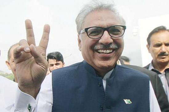 पाकिस्तान : लोकतंत्र के लिए गोली खाने वाले डॉ. आरिफ अल्वी बने 13वें राष्ट्रपति