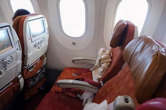Air India की फ्लाइट में शराबी ने महिला की सीट पर किया पेशाब, जांच के आदेश