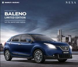 Maruti Suzuki Baleno का लिमिटेड एडिशन लॉन्च, मिले नए फीचर्स