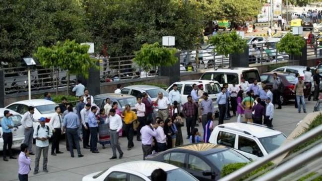 दिल्ली NCR में महसूस हुए भूकंप के झटके, जान-माल की हानि नहीं