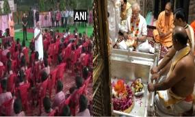 पीएम मोदी ने वाराणसी में बच्चों के साथ मनाया अपना जन्मदिन, काशी विश्वनाथ के दर्शन भी किए