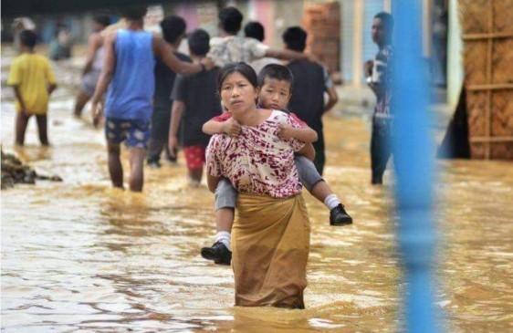 नागालैंड: 532 गांव बाढ़ की चपेट में, 12 लोगों की मौत, 3000 विस्थापित