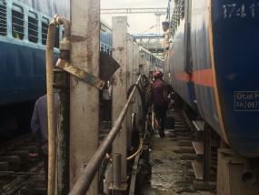 टला रेल हादसा, विदर्भ एक्सप्रेस टूटा स्प्रिंग, मरम्मत के बाद नागपुर से हुई रवाना
