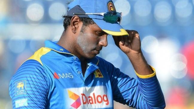 एशिया कप में खराब प्रदर्शन की वजह से श्रीलंका ने एंजेलो मैथ्यूज को कप्तानी से हटाया