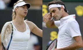 US Open 2018: वर्ल्ड नंबर 2 फेडरर और शारापोवा टूर्नामेंट से बाहर