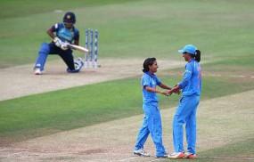 Womens T-20 : भारत ने श्रीलंका को 13 रन से हराया, सीरीज में 1-0 से आगे