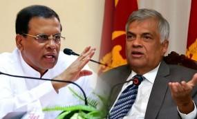 भारतीय निवेश को लेकर आपस में भिड़े श्रीलंका के राष्ट्रपति और प्रधानमंत्री