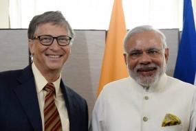 बिल गेट्स ने की मोदी की तारीफ, स्वच्छता मिशन को सराहा