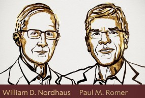 Nobel Prize 2018 : विलियम नॉरदौस और पॉल रोमर को अर्थशास्त्र का नोबल