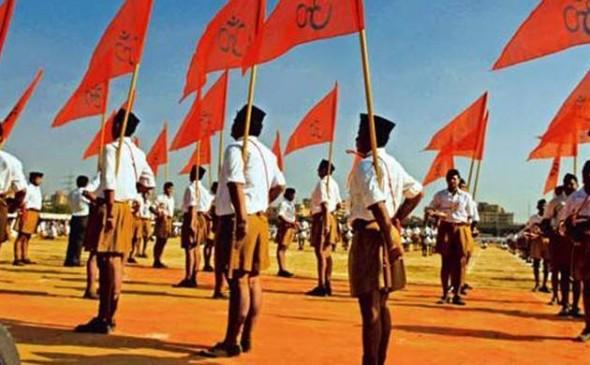 अयोध्या : कोर्ट में सुनवाई टलने पर RSS ने कहा- कानून बनाकर करें मंदिर निर्माण