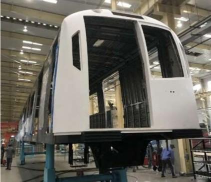 दिसंबर तक चीन से नागपुर आएंगी दो मेट्रो ट्रेन,एक का काम पूरा दूसरे का शुरू