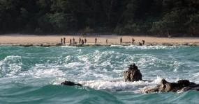 अंडमान : चाऊ का शव लेने गई थी पुलिस टीम, आदिवासियों के हाथ में तीर-धनुष देख वापस लौटी