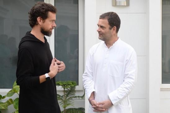राहुल गांधी से मिले ट्विटर के सीईओ, बताया-कैसे सुलझाएंगे फेक कंटेट की समस्या
