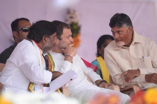 तेलंगाना चुनाव : राहुल गांधी ने TRS को बताया बीजेपी की B-टीम