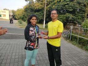 नागपुर की होनहार तन्वी ने हैदराबाद ट्राइथलॉन में जीता स्वर्ण