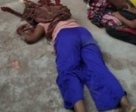 पत्नी की निर्मम हत्या कर फरार हो गया पति, धारदार हथियार से किए गर्दन पर तीन वार