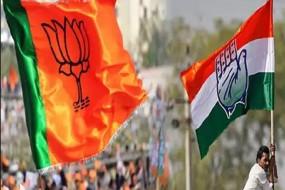 चुनावी हिंसा, कांग्रेस -भाजपा कार्यकर्ता आपस में भिड़े