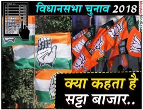 विधानसभा चुनाव : MP, CG और राजस्थान में किसे जीता रहा है सट्टा बाजार, यहां पढ़ें..