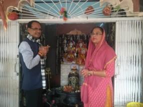 सुबह सफारी के बाद शिव की शरण में पहुंचे शिवराज, बांधवगढ़ में मना रहे छुट्टियां