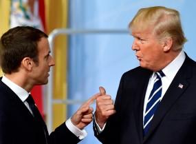 ट्रंप के ट्वीट पर भड़का फ्रांस, कहा- हमारे मामलों से दूर रहें तो बेहतर है