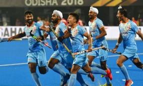 Hockey WC : क्वार्टर फाइनल में पहुंची भारतीय टीम, कनाडा को 5-1 से हराया