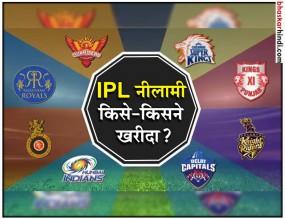 IPL नीलामी के बाद कुछ यूं नजर आएंगी सभी टीमें....