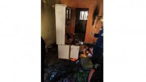 आसिफाबाद में गैस सिलेंडर फटने से तीन मकान राख, पुणे में एक ही परिवार के 5 झुलसे