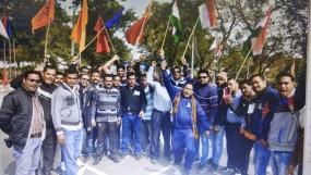 सुरक्षा संस्थानों में हड़ताल, जबलपुर में 92 करोड़ का कारोबार प्रभावित