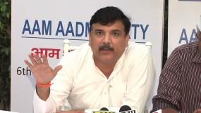 राजीव गांधी विवाद के बीच AAP का ऐलान, कांग्रेस के साथ नहीं लड़ेगी पार्टी