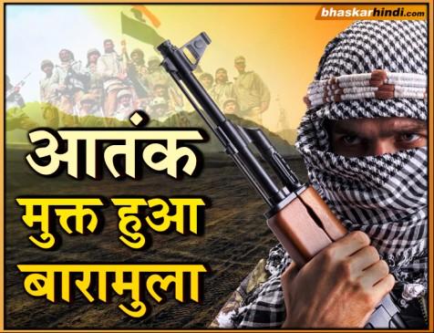 जम्मू-कश्मीर: सेना की बड़ी कामयाबी, आतंकवाद मुक्त हुआ बारामुला जिला