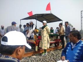 नागपुर के इतवारी से सावनेर तक सरपट दौड़ी ट्राली, सीआरएस ने किया निरीक्षण