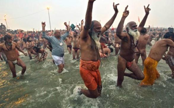 पहले शाही स्नान से कुंभ का आगाज, कुछ ऐसा है पूरे दिन का कार्यक्रम