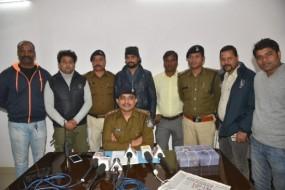 दमोह से खरीदकर जबलपुर में बेचते थे अवैध हथियार, दो तस्कर गिरफ्तार, हथियार जब्त