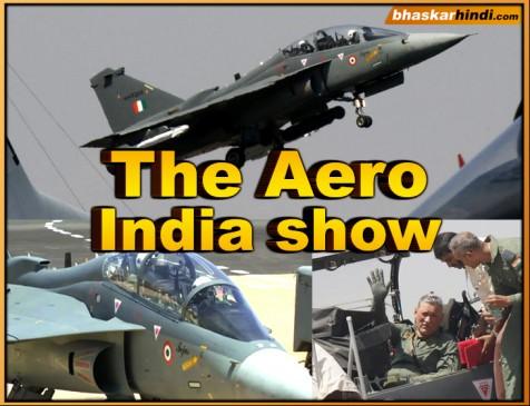 Aero India 2019: आर्मी चीफ जनरल बिपिन रावत ने लड़ाकू विमान तेजस में भरी उड़ान