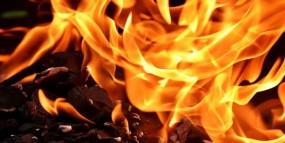 कुंभ के भूरा मठ में लगी आग, हजारों का सामान जलकर राख