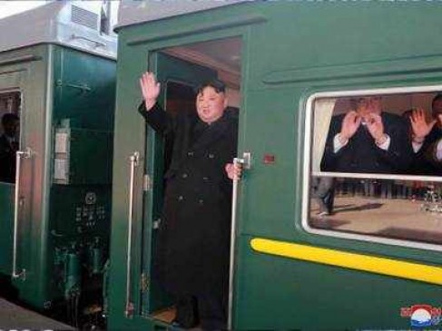 ट्रंप से दोबारा मिलने के लिए रवाना हुए किम जोंग उन, ट्रेन से पहुंचेंगे वियतनाम