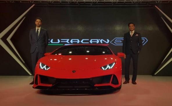 भारत में लॉन्च हुई Lamborghini Huracan Evo, कीमत 3.73 करोड़